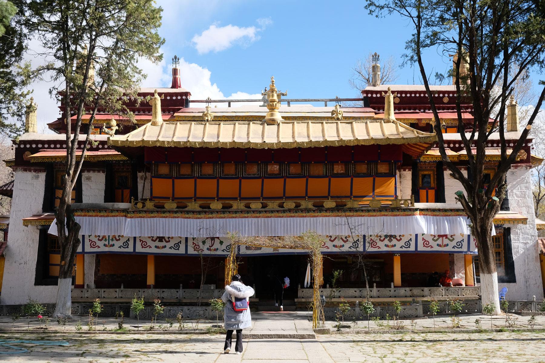 Der Nobulinka in Lhasa in Tibet.