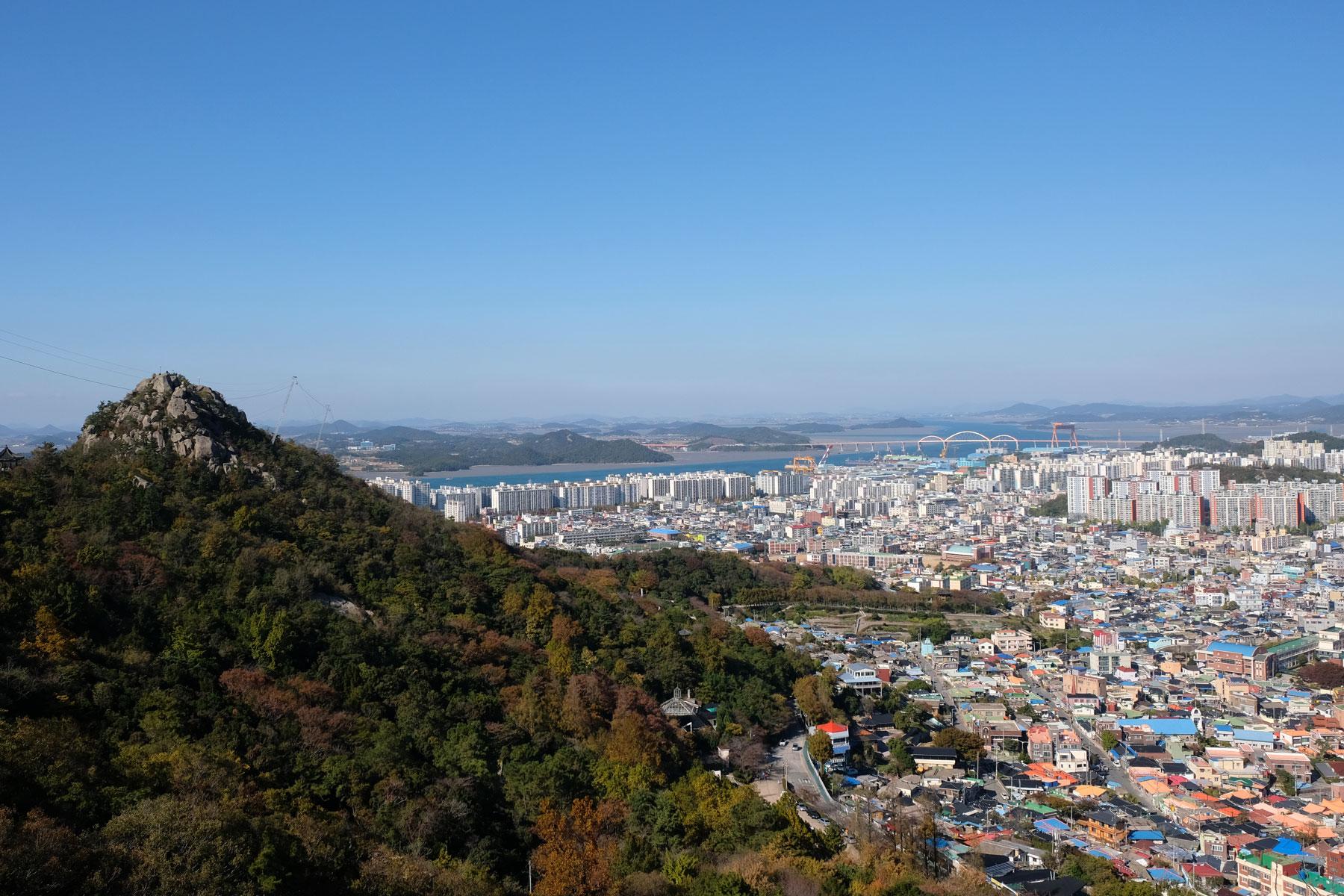 Der Jukgyo-dong ist der Hausberg Mokpos in Südkorea.