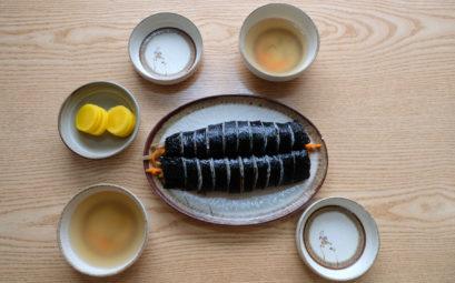 Gimbap, koreanisches Sushi, ist der perfekte Snack für Zwischendurch.