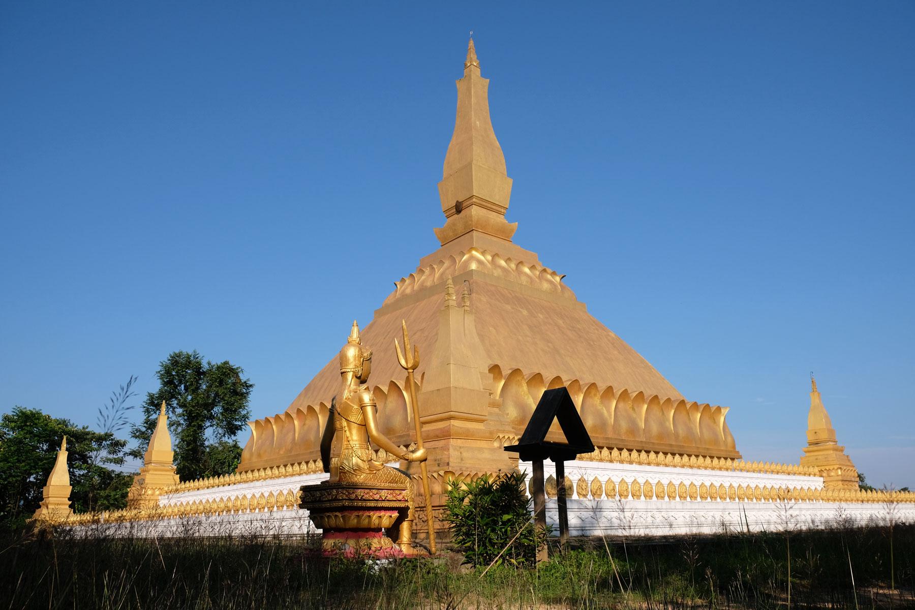 Die War Samakeexay Stupa in Lunag Namtha.
