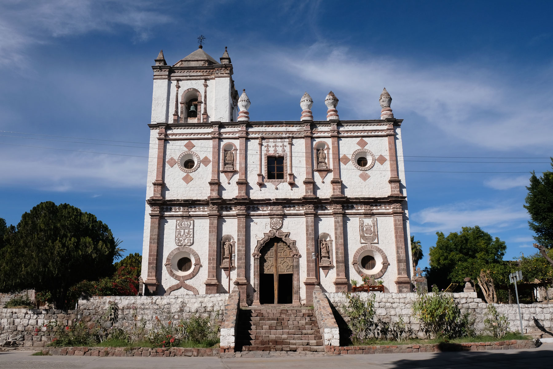 Die Mission des Jesuitenordens in San Ignacio auf der Baja California.