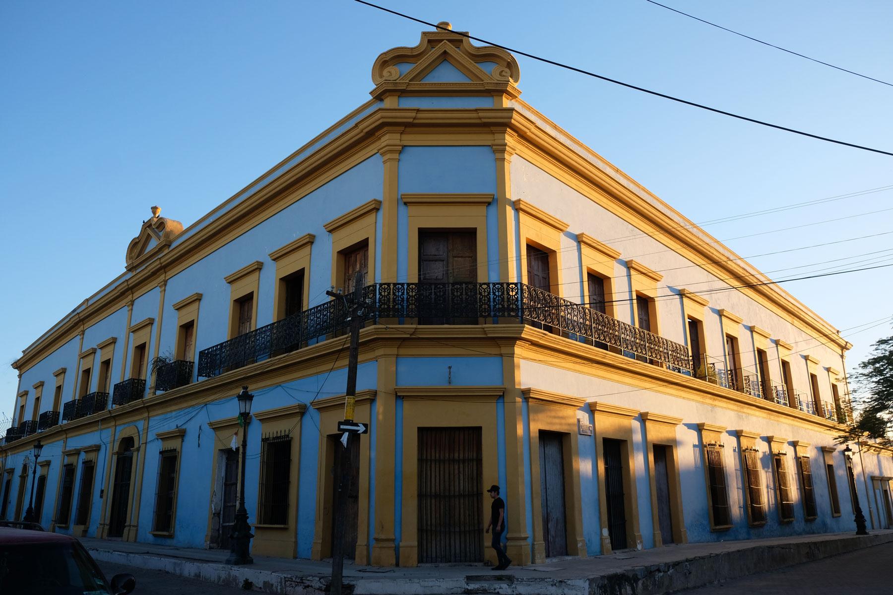 Kolonialarchitektur in El Fuerte, Mexiko.