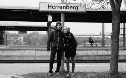 Nach fast drei Jahren Weltreise erreichen Leo und Sebastian wieder ihre Heimatstadt Herrenberg.