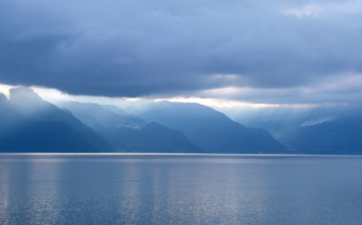Blick auf den Atitlán-See in Guatemala.
